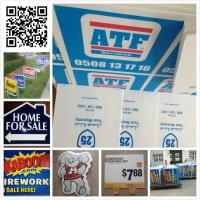 Wholesale 24x18 3mm 4mm coroplast sign/ real estate sign/ lawn sign / corflute sign from china suppliers