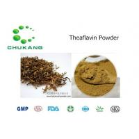 Wholesale Cas  4670 05 7 Plant Extract Powder Theaflavin Anti Inflammatory Absorb Heavy Metals from china suppliers