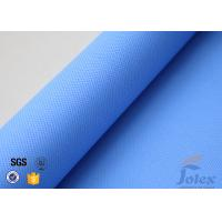 Wholesale 3732 Blue Silicone Coated Fiberglass Fabric Plain Weave High Temperature from china suppliers