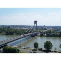 Wholesale Concrete Deck Steel Cable Suspension Bridge prefabWith Rock Anchors from china suppliers