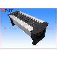 Wholesale Dual Port USB Charger Tabletop Rotating Power Socket For Office Power Solutions from china suppliers