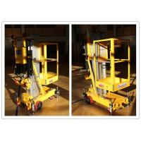 Wholesale Easy Loading Vertical One Person Lift , 7.6 M Platform Height Hydraulic Aerial Lift from china suppliers