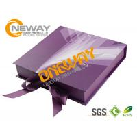Wholesale Printed Packaging Boxes , Luxury Cardboard Printing Dress Packing Designs from china suppliers