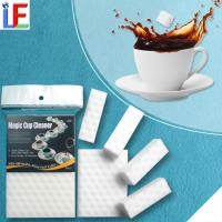 Wholesale Fine Flexible Cup Descaling Magic High Density Mcrofiber Fiber Sponge from china suppliers