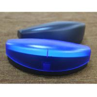 Wholesale Protective Safety Plastic Clamshell Glasses Case Black Blue Red Green Color from china suppliers
