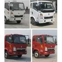 Wholesale Kitchen Garbage Compactor Truck Diesel Engine Red And White Color from china suppliers