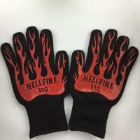 Wholesale Home M - XL Heat Resistant BBQ Gloves Thermal Resistant Gloves 540°F from china suppliers
