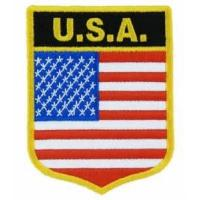 Wholesale USA United States Shield Patch from china suppliers