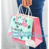 Wholesale Luxury Personalized Printed Shopping Carrier Heavy Duty Reinforced Die Cut Handle Paper Gift Bag,carrier, handle bags, from china suppliers