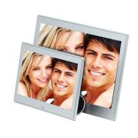 Wholesale 7 Inch Metal Case Video Digital Photo Frame With Clock And Calendar 250cd/m2 from china suppliers