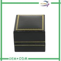 Wholesale Creative PU Leather Jewelry Gift Boxes With Foam Insert , Ring Packaging Box from china suppliers