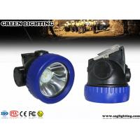 Wholesale IP67 1 W CREE Mining Cap Lights ATEX Approved 4000 Lux Brightness 171g Weight from china suppliers