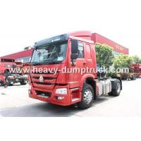 Wholesale Howo 4X2 371 Hp Tractor Head Trucks ZZ4187S3511W For Pulling Low Bed Semi Trailer from china suppliers