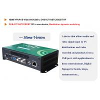 Wholesale 1 Channel HD Encoder Digital TV Modulator with USB and Web server Management from china suppliers