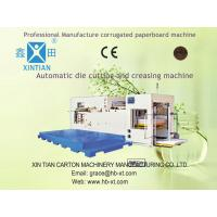 Carton Packing Paper Corrugated Box Making Machinery With High Intensity