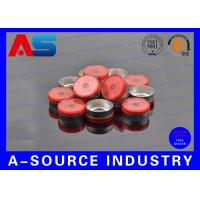 Wholesale Red Aluminum 20mm Flip Off Cap Chemistry Pharmaceutical Aluminium Bottle Caps from china suppliers