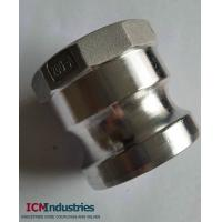 Buy cheap Aluminum camlock fittings type A from wholesalers