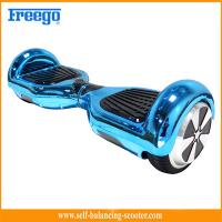 Wholesale Blue Chrome Plated Two Wheel Hoverboard Self Balance Environmental Protection from china suppliers