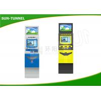 Wholesale Stand Alone Dual Screen Kiosk With Large Screen Advertisement Display 110 - 120V from china suppliers