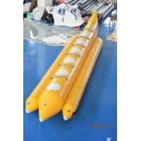 Wholesale Yellow Lake Inflatable Banana Boat Fly Fish For Children 6 Persons from china suppliers