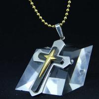 Wholesale Fashion Top Trendy Stainless Steel Cross Necklace Pendant LPC399 from china suppliers
