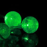 Buy cheap christmas decoration battery operated crystal balls string light from wholesalers