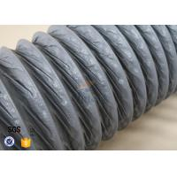 Wholesale 10M PVC Coated Fiberglass Fabric HVAC Flexible Air Ducting 150MM Diameter from china suppliers