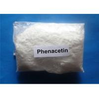 Wholesale Phenacetin White Raw Hormone Powders For Analgesic And Antipyretic , CAS 62-44-2 from china suppliers