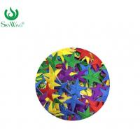 Wholesale Safety Personalised Embroidered Badges / Eco - Friendly Iron On Star Patches from china suppliers