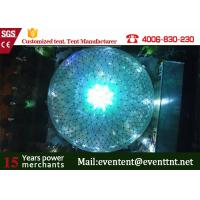 Quality 25 Meters Diameter Beautiful Light Party Dome Tent For Events 15 Years Lifetime for sale