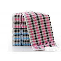 Wholesale Grid Dobby Face Wash Towel 100% Cotton For Hotel / Home DR-FT-07 from china suppliers