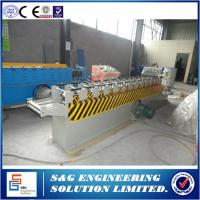 Quality CNC system Metal Roller Shutter Door Roll Forming Machine HS 8455229090 for sale