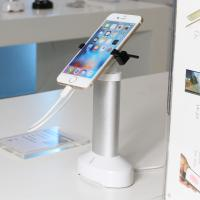 Wholesale Comer table mounted cellphone stand for retail display with Alarm function from china suppliers
