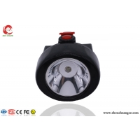 China Wireless Battery Operated Rechargeable LED Hard Hat Light high brightness including elastic head band on sale