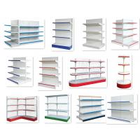 Wholesale Custom Steel Grocery Store Shelving , Retail Store Display Shelves Multi Layer from china suppliers