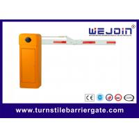 Wholesale Security Straight Barrier Gate With Yellow Cabinet and Steel-casting Design from china suppliers