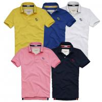 Buy cheap Abercrombie fitch hollister polo shirts ,100% cotton polo brand shirts from wholesalers