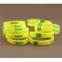 Wholesale Brazil National Team Sport Bracelet Sports wristbands Olympic Games Sport Silicone bracele from china suppliers