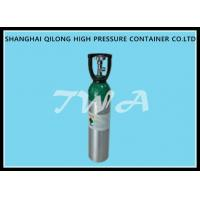 Wholesale High Pressure DOT 4.64L Aluminum  Gas Cylinder  Safety Gas Cylinder for  Use CO2 Beverage from china suppliers