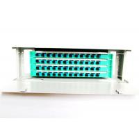 Wholesale 19 Inch Fiber Optic Distribution Panel Rack Mount 48 Cores For CATV Network from china suppliers