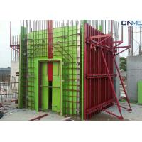 Wholesale Adjustable Wall Steel Formwork System Panel Strut , Flexible Concrete Formwork Secure from china suppliers