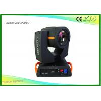 Quality Moving Head Spot Light Philips 5R Lamp , Moving Head Dj Lights 8 Rotation Prism for sale