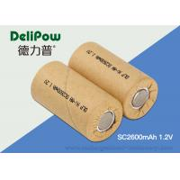 Quality 1.0v~1.2V Voltage Small NIMH Rechargeable Battery For Flashlight for sale
