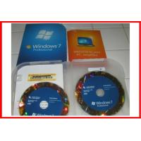 Wholesale 100% original Windows 7 Professional Retail Box 32 & 64 bit with OEM BOX from china suppliers