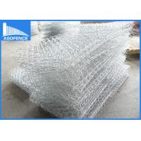 Quality Hexagonal Gabion Rock Wall Cages , Gabion Wire Mesh Panels Baskets for sale