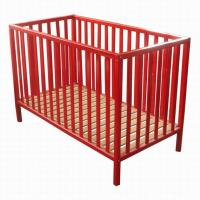 Simple and elegant New Zealand solid wooden baby crib baby cot baby bedding price