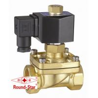 Wholesale Brass Normally Open Water Solenoid Valve 2 Way Low Voltage For Hydraulic System from china suppliers