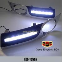 Wholesale Geely Emgrand EC8 DRL LED driving Lights led auto light replacements from china suppliers