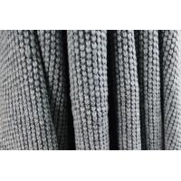 Quality 2017 F/W NEW COLLECTION GREY WOOL FABRIC WITH DROP NEEDLE KNITTING CRAFT FOR COAT for sale