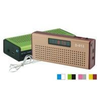 Quality Portable Speaker/mini Speaker USB & Micro SD card speaker with radio DY-D-013 for sale